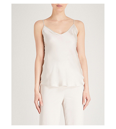 MAX MARA Lucca silk-satin camisole (013+ice
