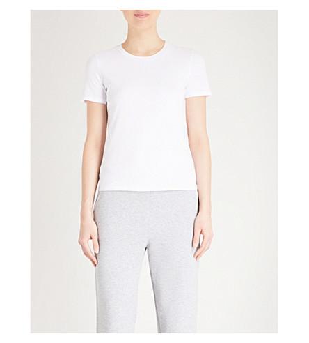 MAX MARA Mogano cotton-jersey T-shirt (001+white