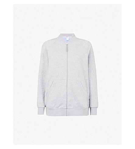 MAX MARA Palmeti jersey sweatshirt (001+medium+grey