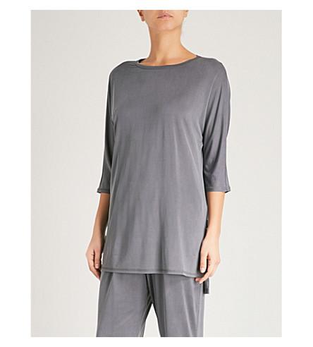 MAX MARA Street jersey top (004+dark+grey