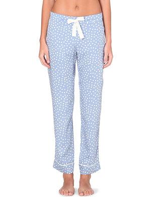 PRINCESSE TAM TAM Woven pyjama bottoms