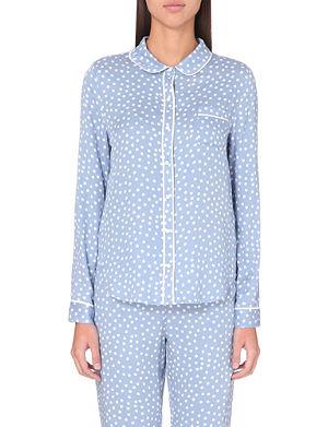 PRINCESSE TAM TAM Woven pyjama top