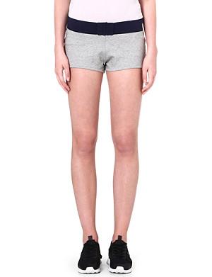 PRINCESSE TAM TAM Sporty jersey shorts