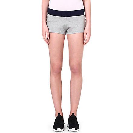 PRINCESSE TAM TAM Sporty jersey shorts (2175 gris/gris