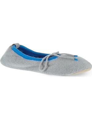 CASH CA Cashmere slippers