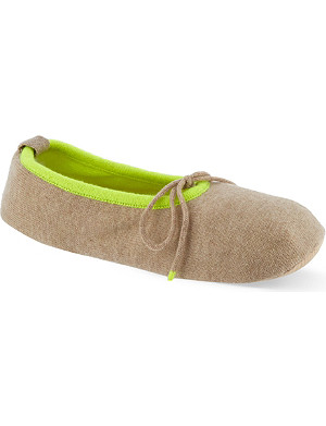 CASH CA Cashmere slippers