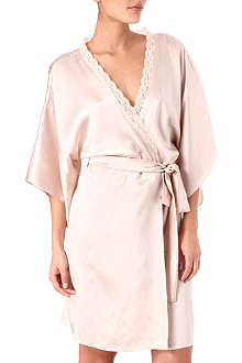 STELLA MCCARTNEY Clara Whispering silk robe