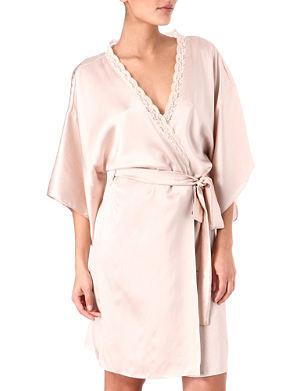 STELLA MCCARTNEY Clara Whispering silk robe