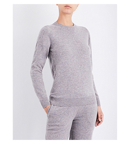 SUNSPEL Relaxed-fit lambswool lounge sweater (Marble