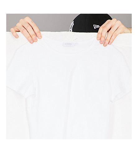 SUNSPEL Short-sleeve cotton-jersey T-shirt (White