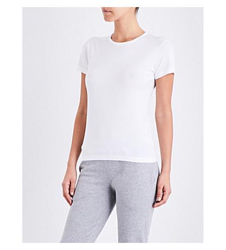 SUNSPEL 短袖棉衫 t恤衫 (白色