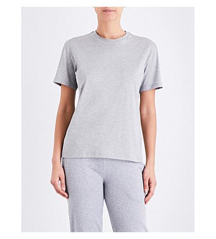SUNSPEL Boy-fit cotton-jersey T-shirt (Grey+melange