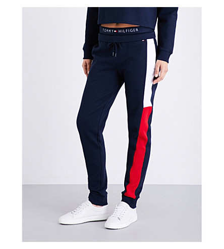 TOMMY HILFIGER Athletica jersey jogging bottoms (Navy blazer