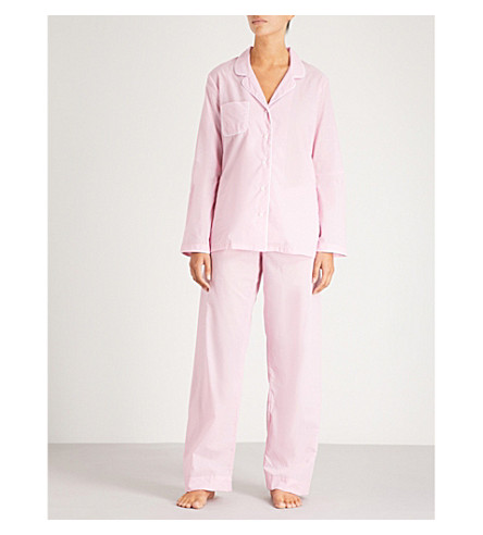 DEREK algodón Ros Amalfi ROSE pijama conjunto de de qwr4CPqH