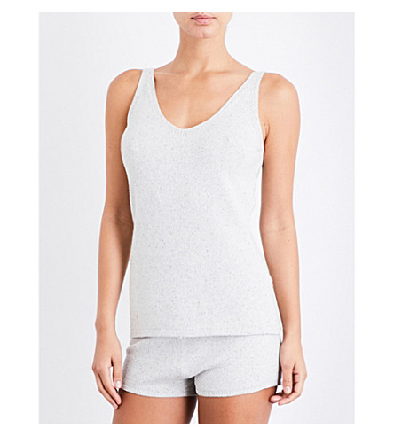 EBERJEY Paula knitted top (Speckled+grey