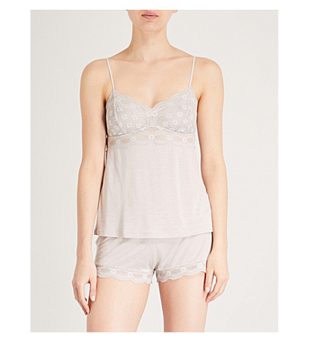 EBERJEY India jersey camisole (Opal