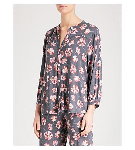 EBERJEY Veranda jersey pyjama top (Multi