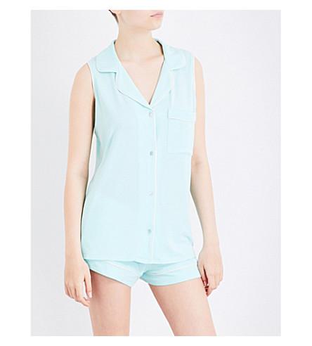 EBERJEY Gisele jersey pyjama set (Peppermint/bellini