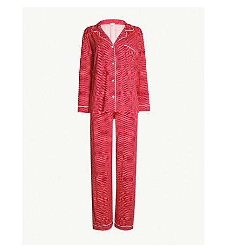 EBERJEY Sleep Chic jersey pyjama set (Diamante ivory