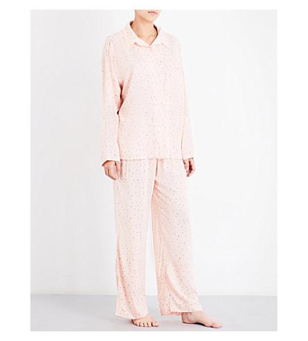 EBERJEY Victoria poplin pyjama set (Florencia+ivory