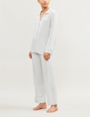 Nordic Stripes Heritage stretch-jersey pyjama set