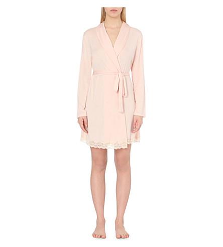 EBERJEY Lady Godiva robe (Sorbet/beige