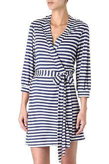 EBERJEY Maritime stripes robe
