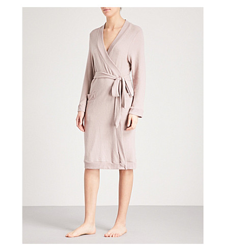 EBERJEY Cosy Time knitted robe (Fawn