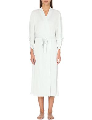 EBERJEY Colette long kimono robe