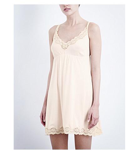 EBERJEY Lady Godiva chemise (Sorbet/beige