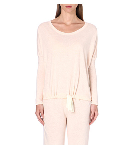 EBERJEY Heather slouchy pyjama top (Shell