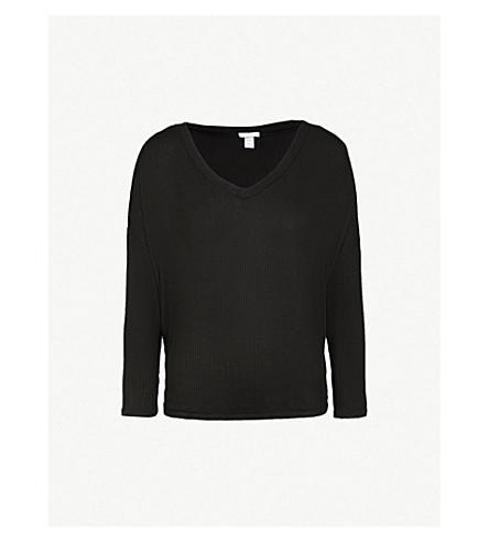EBERJEY Elon knitted top (Black2