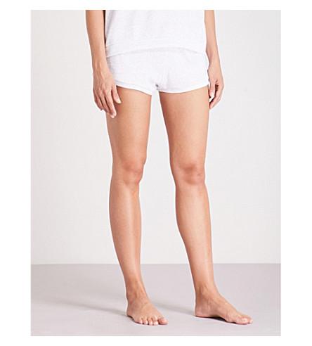 EBERJEY 德里奥诺棉混合睡衣短裤 (冰 + 灰色