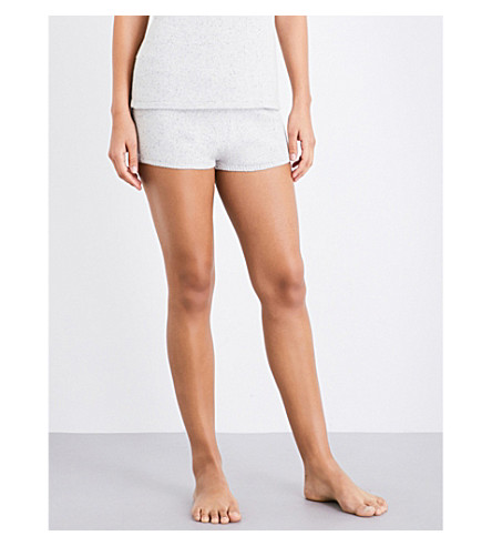 EBERJEY Paula knitted shorts (Speckled+grey