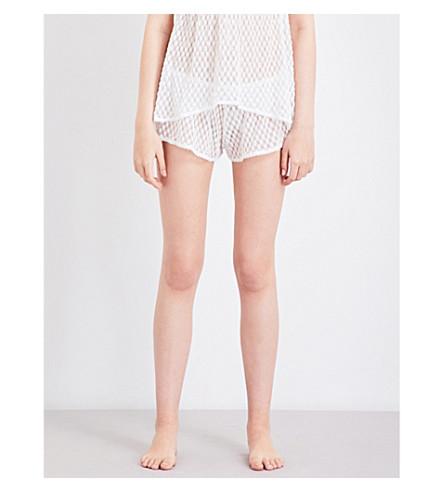 EBERJEY Love Always lace pyjama shorts (Magnolia