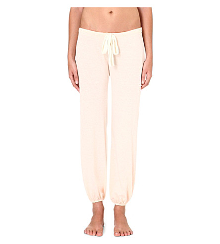 EBERJEY Heather jersey pyjama bottoms (Shell