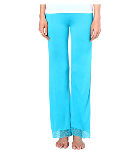 EBERJEY Summer pyjama bottoms (Turq