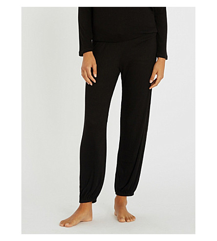 EBERJEY Elon jersey pyjama bottoms (Black2