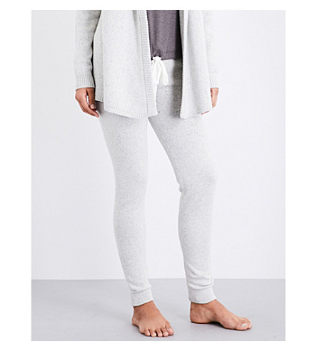 EBERJEY Paula knitted leggings (Speckled+grey