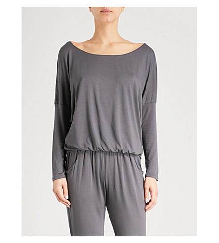 EBERJEY Umma jersey trousers (Ebony