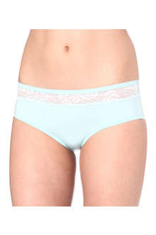 CALVIN KLEIN Lace panel hipster briefs