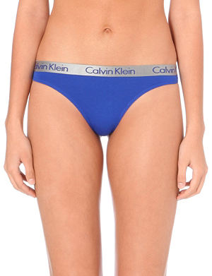 CALVIN KLEIN Radient cotton thong