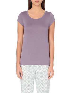 CALVIN KLEIN Modal scoop-neck pyjama top