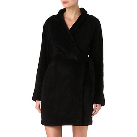 CALVIN KLEIN Cuddle robe (Black