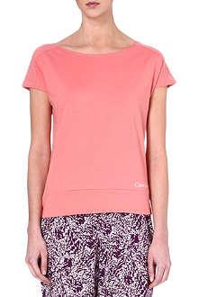 CALVIN KLEIN Cotton-blend t-shirt