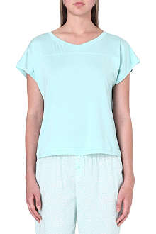 CALVIN KLEIN Cotton-blend t-shirt