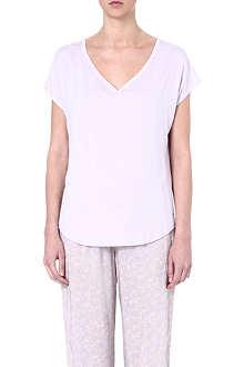 CALVIN KLEIN Modal V-neck pyjama top