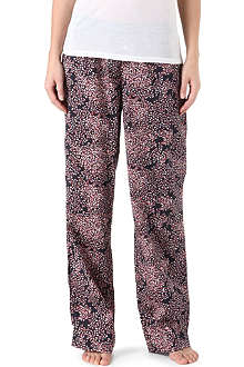 CALVIN KLEIN Woven roll-up pyjama trousers