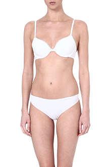 CALVIN KLEIN Cotton-blend push-up bra