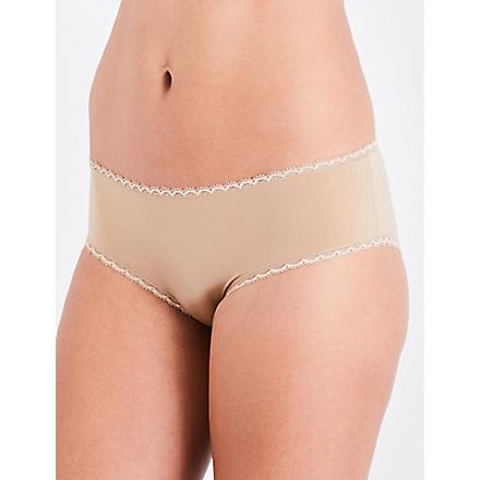 CALVIN KLEIN Seductive Comfort hipster shorts (Dune